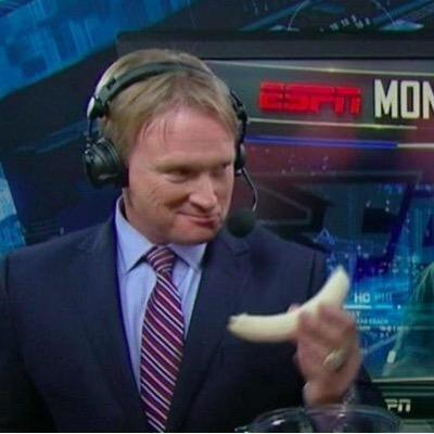 Jon Gruden - Banana on MFN